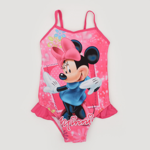 Minnie Mouse Swimsuit Fushia