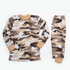 Monaliza Printed Boys Thermal Set Beig
