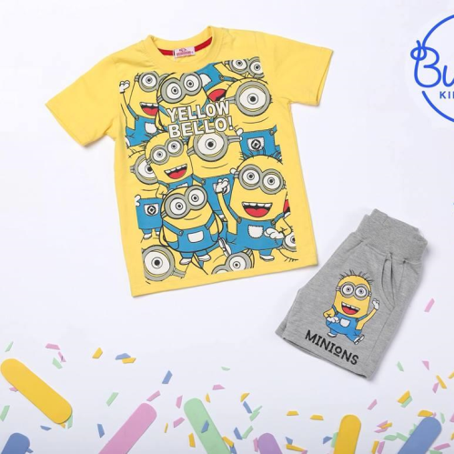 Bubbles Minion Pajama Yellow
