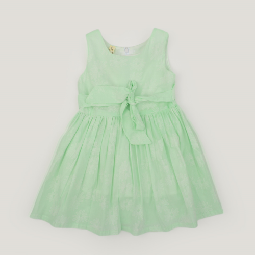 Bino Classic Dress Light Green