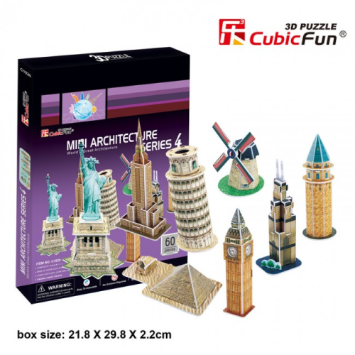 Cubic Fun 3D World's Puzzle