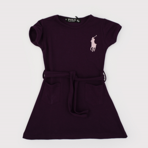 Polo Dress Purple