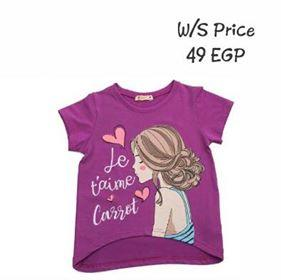 Carrot Girl Shirt Purple