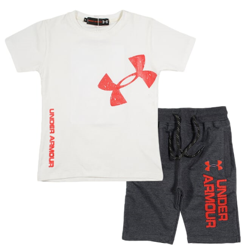 Marz Under Armour Pajama White