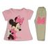 Disney Minnie Mouse Pajama Pink Grey