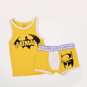 I Wear Batman Yellow Set