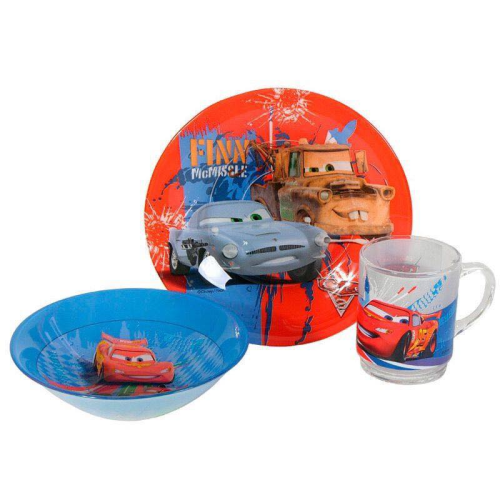 Luminarc Cars Kid's Set