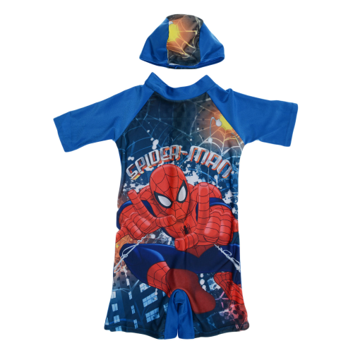Disney Spider Man Swimsuit Blue