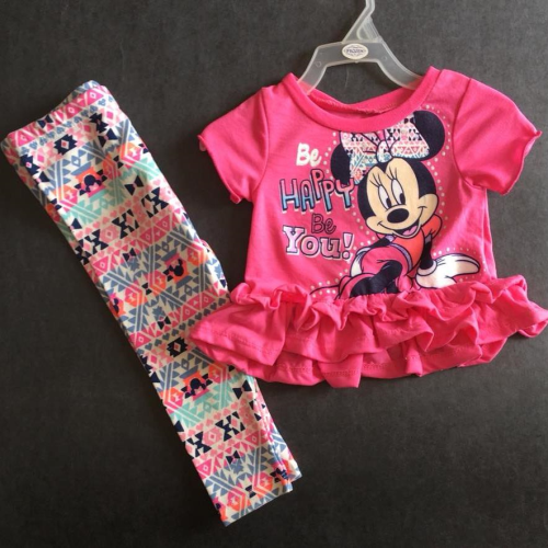 Disney  Be Happy Pajama Fushia