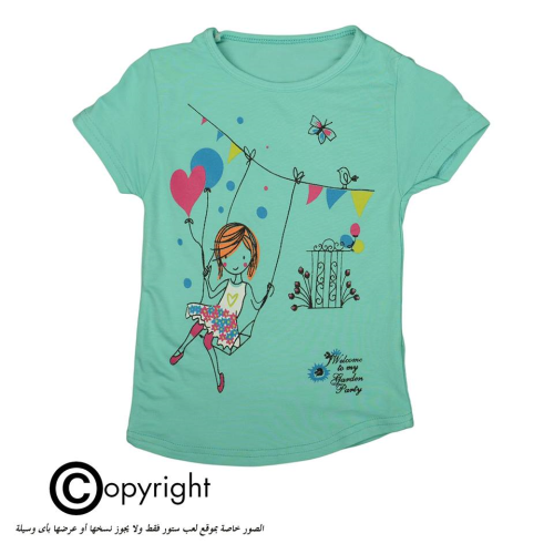Violet Girl Shirt Light Green