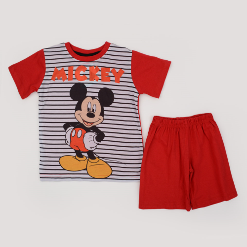 Disney Mickey Pajama Red