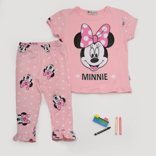 Katy Minnie Pajama Pink
