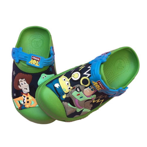 Crocs Green Toy Story