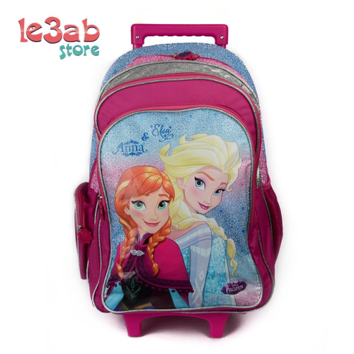 Elsa Rolling Backpack Fushia 19