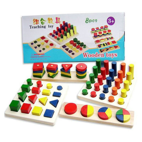 Teaching Toy 8 PCS