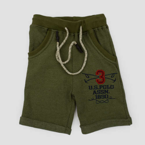 Polo Short Dark Green