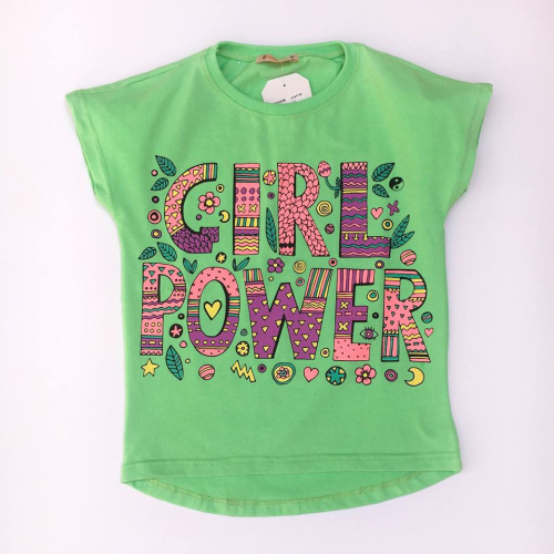 Carrot Girl Shirt Light Green
