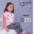 Smile Vision Girls Pants Pajama Pink