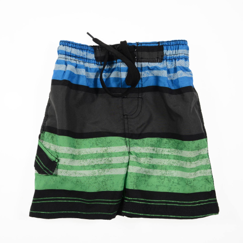 Kanu Striped Swimsuit  Baby Blue Green