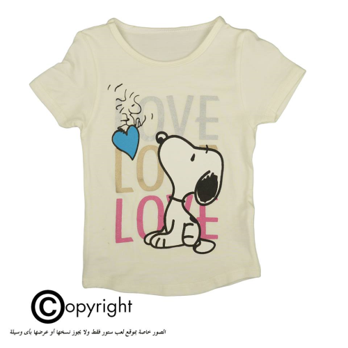 Violet Snoopy Shirt White