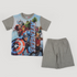 Disney Captain America Pajama Gray