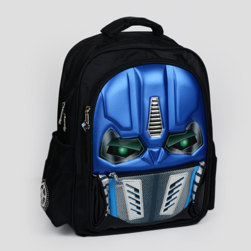 Transformers Backpack Blue Black 18