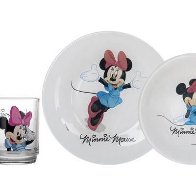 Luminarc Minnie Mouse Kid's Set