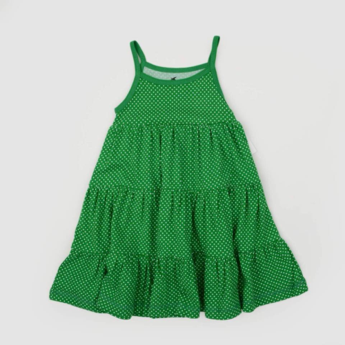 Happy Kids Dress Green