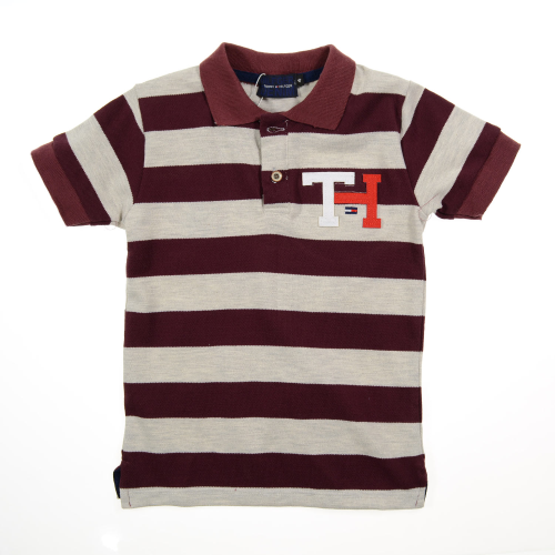 Marz Tommy Polo Dark Red