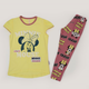 Alex Princess Minnie Mouse Pajama Yellow