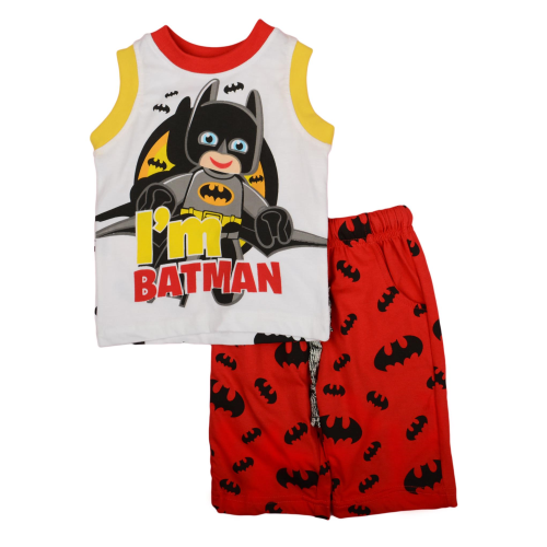 Exit 2 Batman Pajama Red