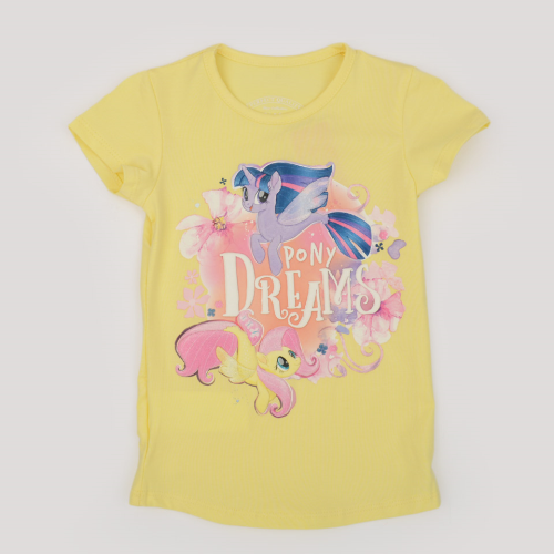 Bino Pony Shirt Yellow