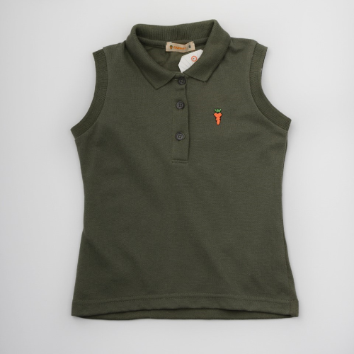 Carrot Polo Dark Green