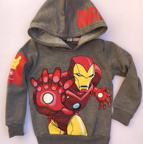 Ganna Iron Man Sweatshirt Gray