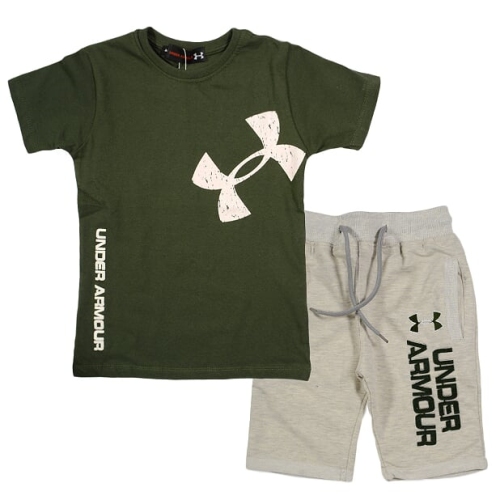 Marz Under Armour Pajama Dark Green