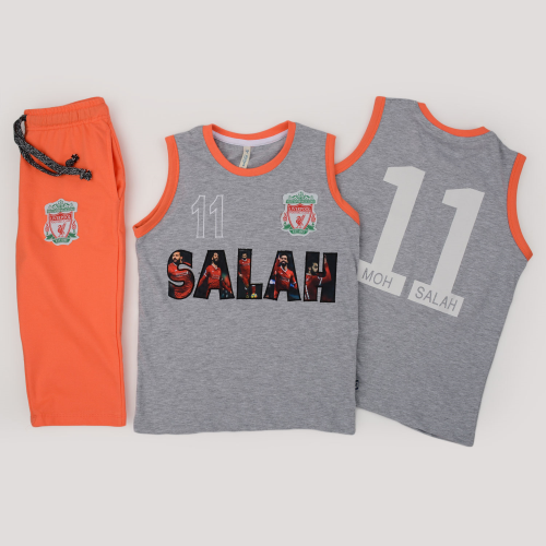 Alex Princess Mohamed Salah Pajama Gray