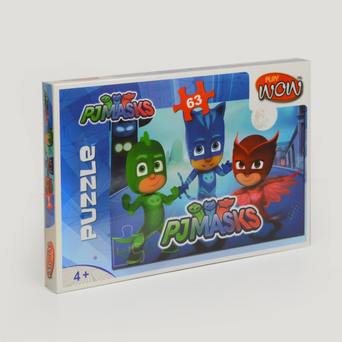 Wow Play Pj Masks Puzzle 63 PSC