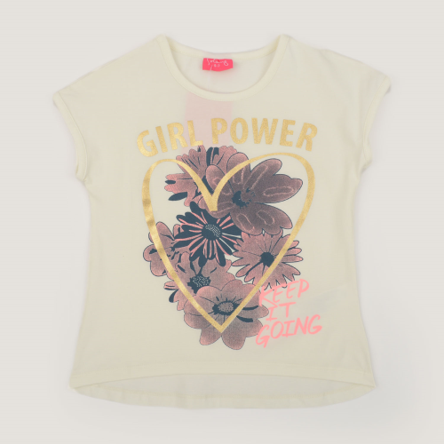 Solang Girl Power Shirt White