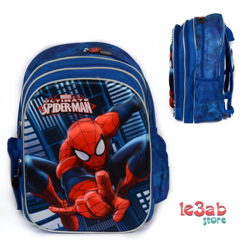 3D Spider Man BackPack Blue 18