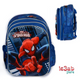 3D Spider Man BackPack Blue