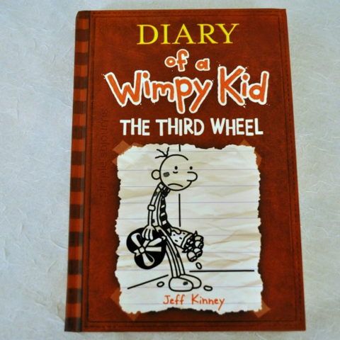 Diary of a wimpy kid le3abstore the wimpy kid the third wheel solutioingenieria Choice Image