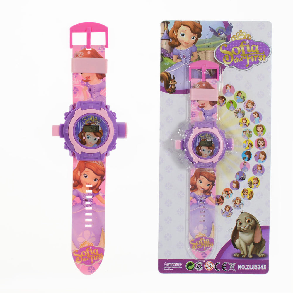 Disney Sofia Projection Watch