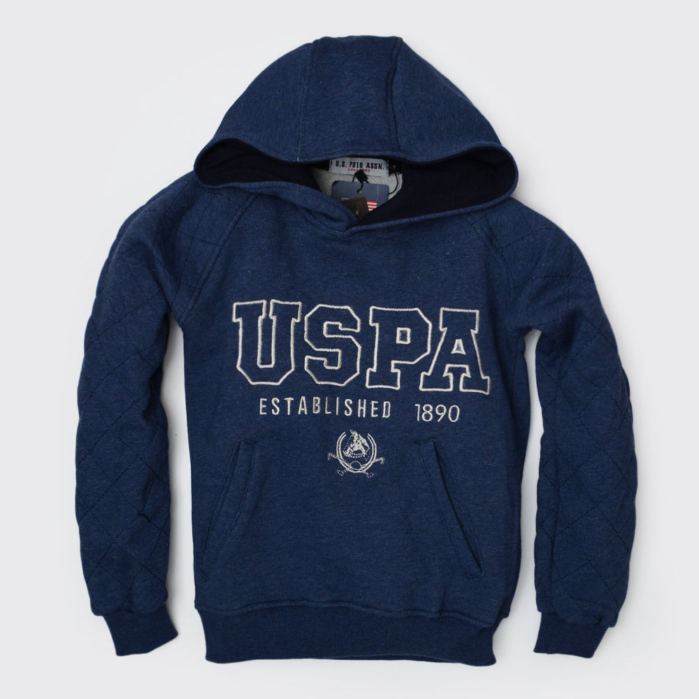 USPA Sweatshirt Blue Black