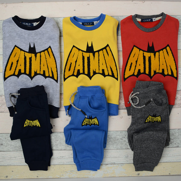 Batman Winter Pajama Yellow for boys