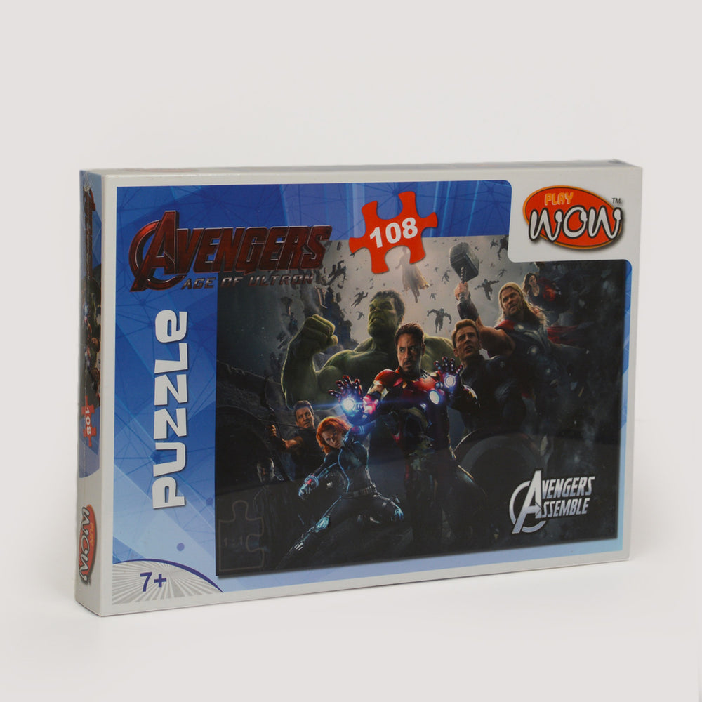 Wow Play Avengers Puzzle 108 Piece