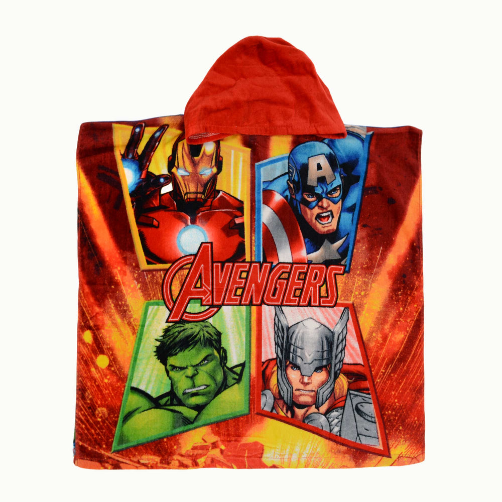 Disney Avengers Hooded Towel Poncho