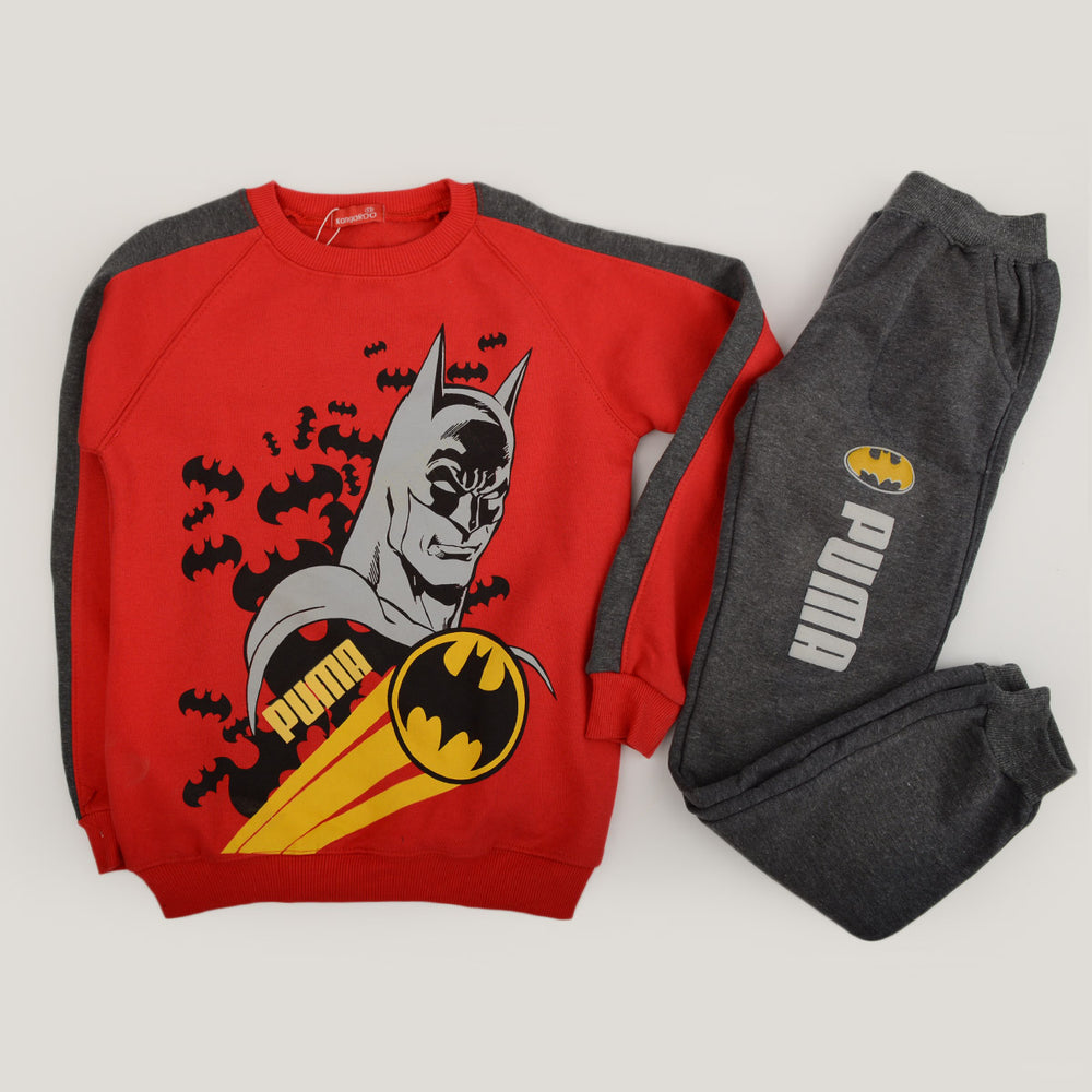 Kangaroo Batman Pajama Red