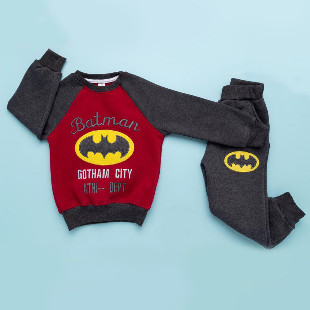 Sedra Batman Winter Pajama Red