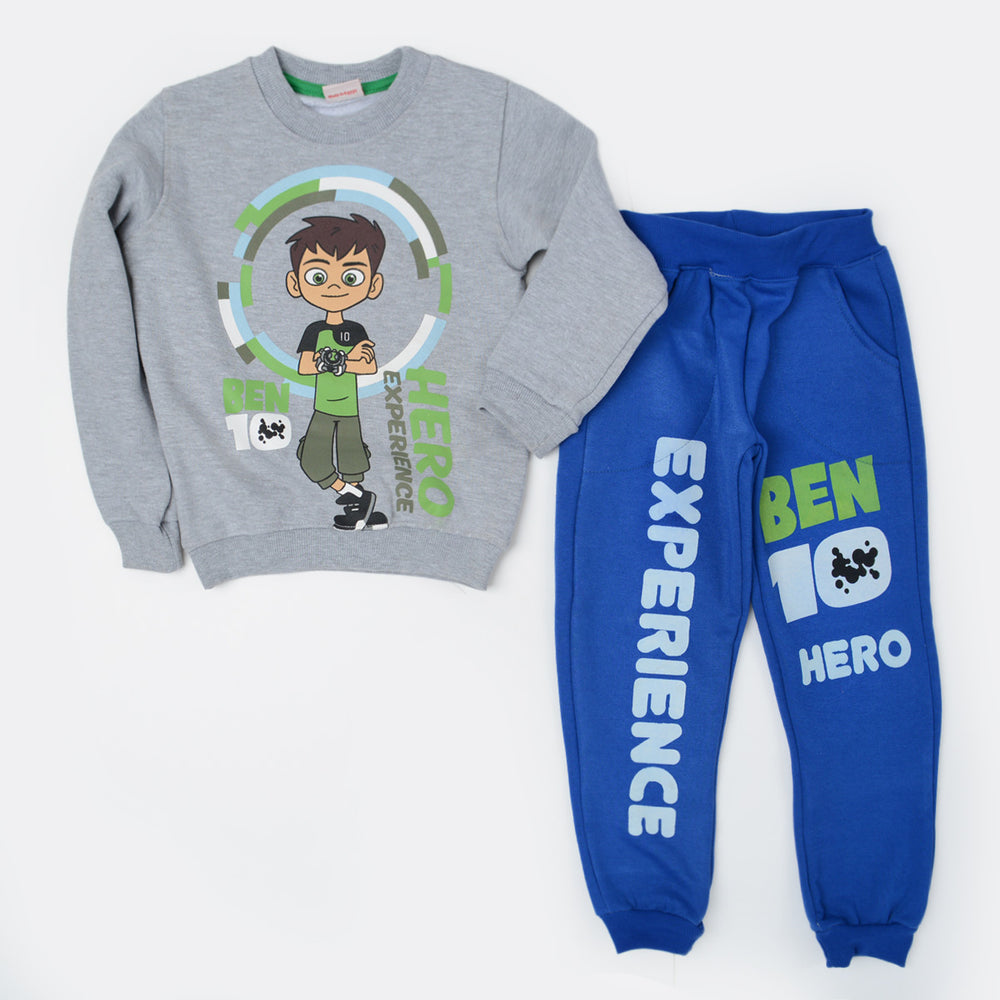 Kangaroo Ben 10 Winter Pajama Gray