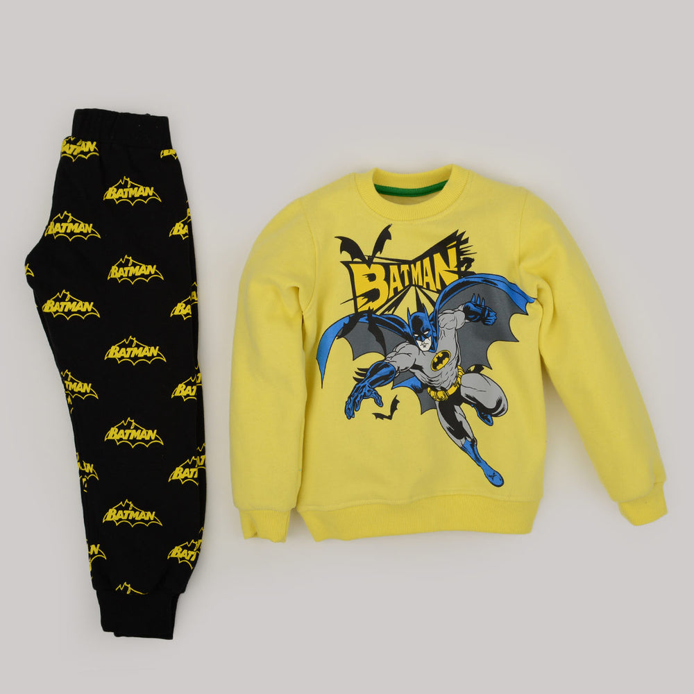 Kangaroo Batman Pajama Yellow